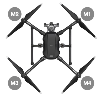 Matrice 300 Aircraft Arm Carbon Tube (M1) - Cloud City Drones