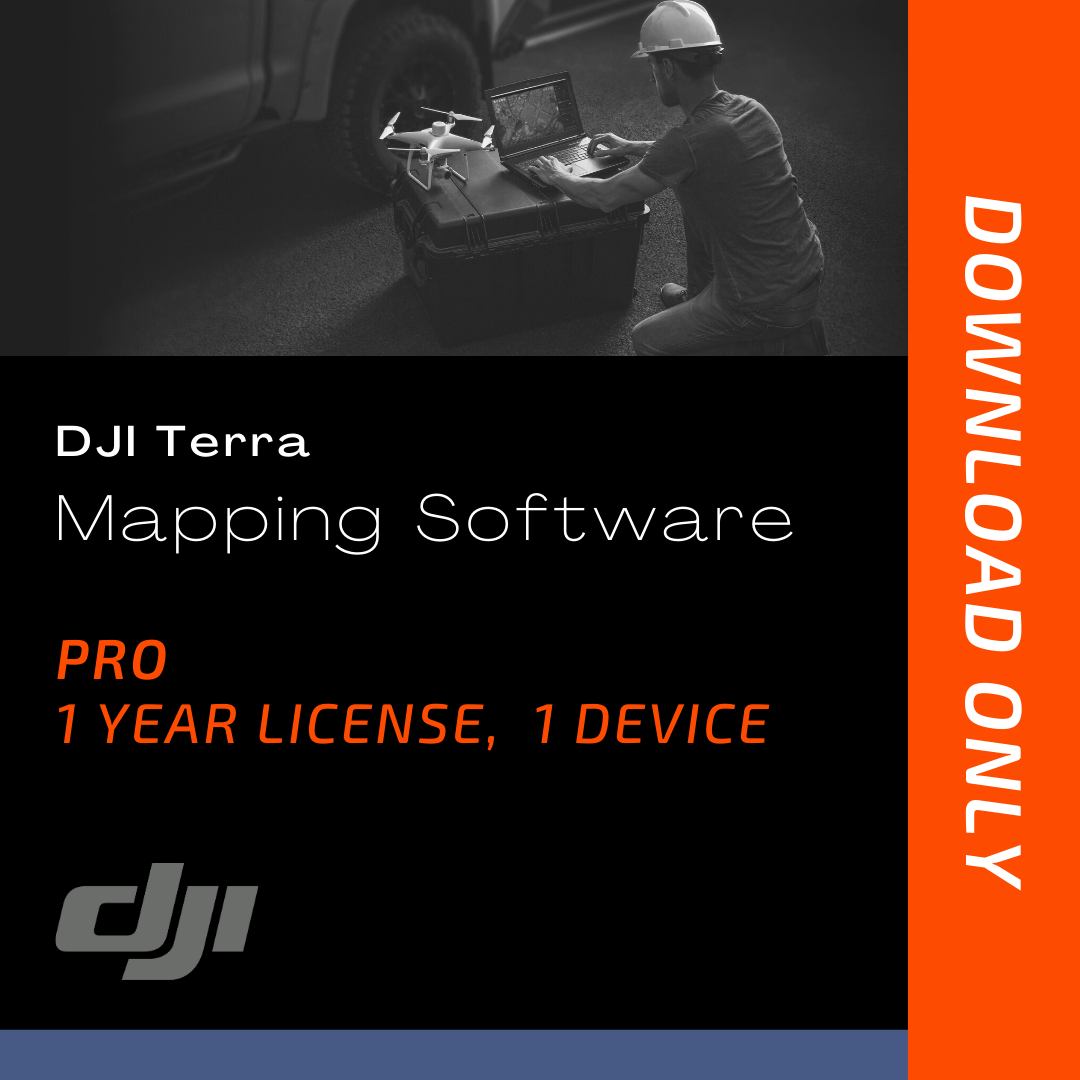 Terra Pro Mapping Software (1-Year License, 1 Device)