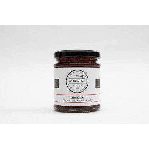 Chilli Jam with Cornish Chillies