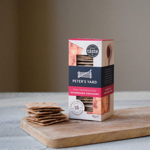 Peter's Yard Pink Peppercorn crackers