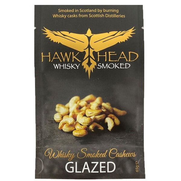 Whisky Smoked Glazed Cashews 65g