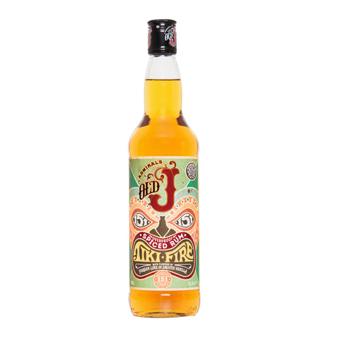 Old J Tiki Fire Overproof Spiced Rum