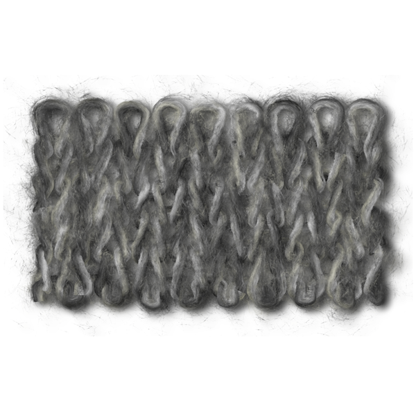 DANDE CORD (ダンデコード)(6A×7A×9A×230×519) 1/2.6<br> KID MOHAIR55% NYLON30% WOOL15%<br />C/#10008