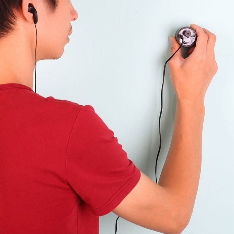 High Sensitive Wall Listening Device Ear Sound Voice Amplifier Hidden Bug Detector Spy USB Audio Monitors