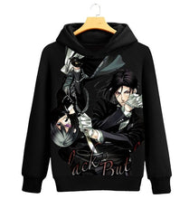 Load image into Gallery viewer, Anime Black Butler Hoodie Fashion Hoodies Sweatshirts Long Sleeve Autumn Winter Clothing