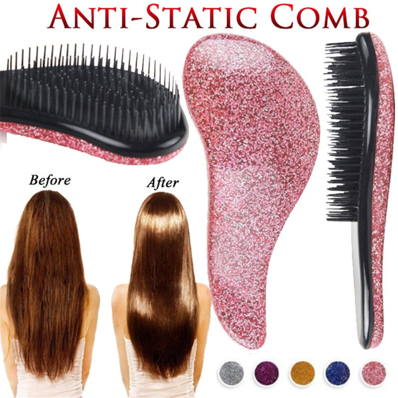 1 Piece Magic Handle Comb Anti-static Hair Brush