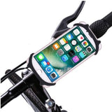 6Colores Universal Bike Bicycle Motorcycle Mobile Phone Silicone Holder Buckle Pull Nonslip Cellphone GPS Handlebar Bracket Stand