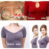 Upgrated Version Womens Lift Up Silicone Bra Self-Adhesive Reusable Bra Strapless Invisible Push Up Bra for Women Party Dress