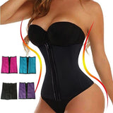Fashion Women Bustier Sport Gym Latex Waist Cinchers Waist Training Corsets Underbust Waist Trainer Waist Corsette Tummy Control Belt Girdle
