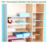 4 Colors 24/35cm Width Adjustable Closet Storage Organizer Wall Mounted Shelf Kitchen Home Rack Space Saving Wardrobe Shelves Cabinet Holders