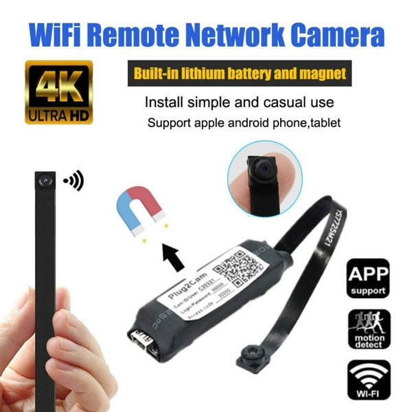 1080P DIY Portable Magnet Mini ip Camera WiFi P2P Micro Remote Support Hidden View Camcorder Mini Video Recorder