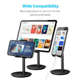 Upgraded Version Phone Stand, Adjustable Cell Phone Stand, Cradle, Dock, Phone Holder for Desk Compatible  All Smartphones