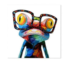 Load image into Gallery viewer, New Hot Modern Abstract Huge Wall Art  Oil Painting On Canvas Glasses Frog Not Framed Room Decor