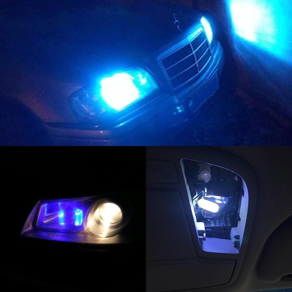 T10 194 2825 WY5W W5W COB LED Silicagel Waterproof Wedge Light Car marker light reading dome Lamp Auto parking bulbs DC 12V