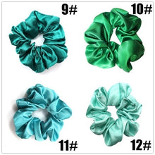 Load image into Gallery viewer, New Women Fashion 39 Colors Cloth Hair Ring Silk Soft Scrunchies