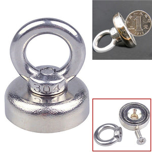 1 Pcs Heavy Duty Strong Magnet Hooks Rare Earth Neodymium Magnetic Hanger Holder YIQIU