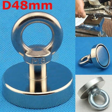 Load image into Gallery viewer, 1 Pcs Heavy Duty Strong Magnet Hooks Rare Earth Neodymium Magnetic Hanger Holder YIQIU