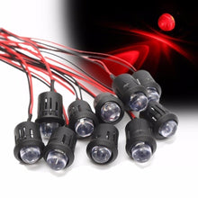 Load image into Gallery viewer, 5/10/20PCS New 12V 10mm Waterproof Pre-Wired Constant LED Ultra Bright Water Transparent Bulb