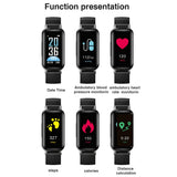 2 in 1 T89 Bluetooth smart binaural Bluetooth headphone fitness bracelet heart rate monitor smart wristband sport Watch