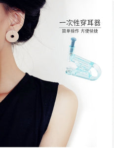 Disposable Painless Aseptic Ear Piercing Machine Ear Piercing Machine Ear Piercing Gun with Alcohol Cotton