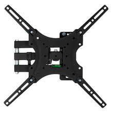 Load image into Gallery viewer, High Quality Universal Home Adjustable TV Stand TV Wall Mount Bracket Design For 26-55 Inch TV Set Black Super Strong Load Capacity Rated to 30kg Adjustable Horizontal Bubble