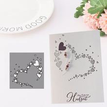 Load image into Gallery viewer, New Arrival Heart Metal Cutting Dies Stencils for DIY Scrapbooking/photo Album Decorative Embossing DIY Paper Cards