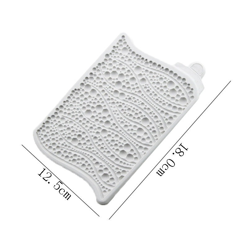 Bubbles and Pearls Mould Silicone Mold Fondant Cake Decorating Tool Gumpaste Sugarcraft Chocolate Forms Bakeware