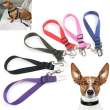 Load image into Gallery viewer, Car Vehicle Safety Seat Belt Restraint Harness Leash Travel Clip for Pet Cat Dog