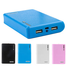 Load image into Gallery viewer, Dual USB Power Bank 4x 18650 External Backup Battery Charger Box Case For Phone TVN