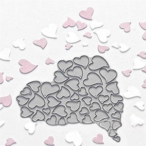 Heart Metal Cutting Dies for Scrapbooking Card Making Stitch Craft Stencil Die Cut