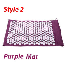 Load image into Gallery viewer, Massage Mat Acupressure Mat 67cm*42cm Yoga Lotus Spike Acupuncture Mat Relieve Back Body Pain Spike Acupuncture Yoga Mat
