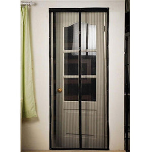 Hand Free Door Screen Net Magnetic Anti Mosquito Bug Curtain For Entry Pati Mosquito Control Mesh Insect Net Mosquito Door Net