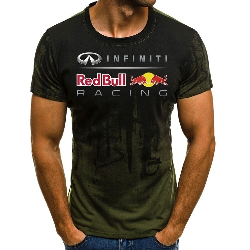 2019 Hot Tshirt Summer fashion Short sleeves Racing Mens T-Shirt Motorcycles Team Tops T Shirt plus size S-3XL