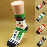 1 Pair Christmas Socks Santa Claus Gift Adult Xmas Funny Socks for Girl Women