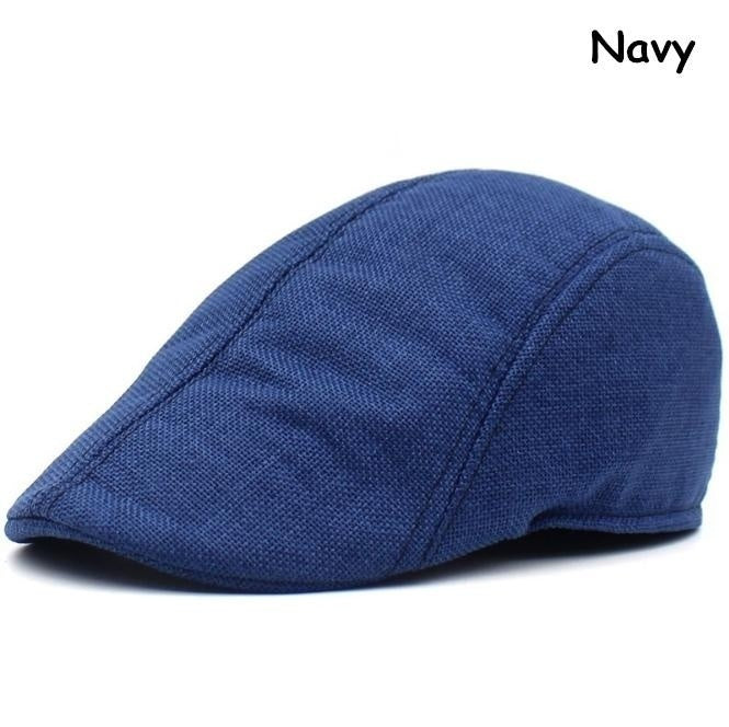 Classic Wool Cap Golf Newsboy Berets Outdoor sunshade hat Herringbone Duckbill Ivy Hat