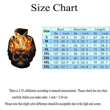 Load image into Gallery viewer, Cool 3d Skull Print Men Women Hoodies Jackets