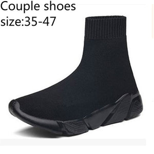 Fashion Mens and Womens Outdoor Lightweight Breathable Casual Shoes Couples Stretch Mesh Set Foot Boots
