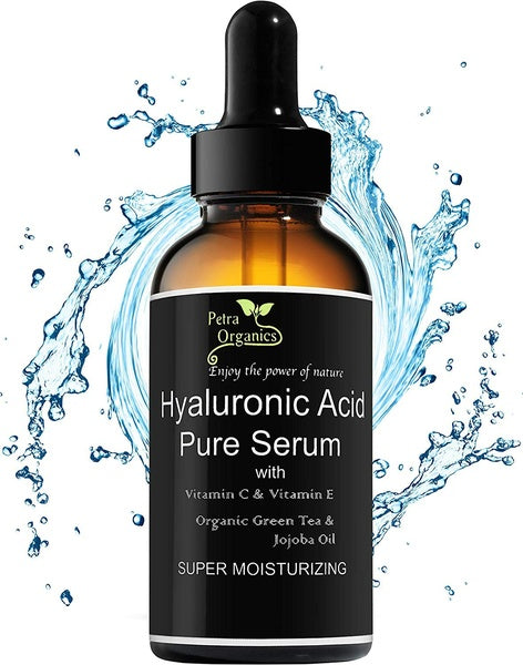 10ML Hyaluronic Acid Serum for Face with Vitamin C - Pure and Natural Face Serum - Anti Aging Serum - Anti Wrinkle Serum - Hyaluronic Acid with Vit C Serum - 1fl.oz / 30ml