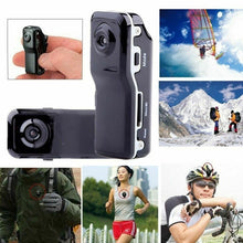 Load image into Gallery viewer, Portable Mini DV Camcorder DVR Video Camera Webcam Support 16GB HD Cam Sports Helmet Bike Motorbike Cam (Black)
