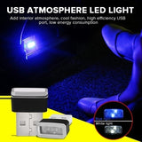 New Mini Portable USB LED Car Interior Light Neon Atmosphere Ambient Lamp Car Decor Light Lamp