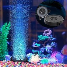 Load image into Gallery viewer, Aquarium Bubble Light LED Air Stone Color Changing Light Waterproof Fish Tank Bubble Lights Submersible Light Bar