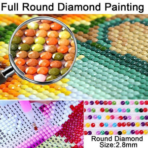 Creative Design 5D Diamond DIY Painting Cross Stitch Craft Kit Embroidery Painting Home Wall  Decor