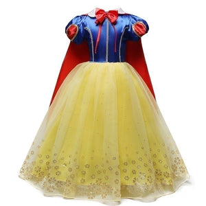 14 Colors 3-10 Years Children Kids Fancy Princess Cosplay Costumes for Halloween Carnival Masquerade Xmas Party
