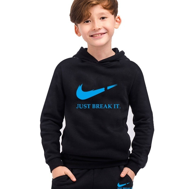 Kids New Fashion Sport Suits Personality Logo Printed Classic Clothes Hip Hop Tracksuits Children Suits Boys And Girls Clothes
