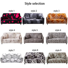 Load image into Gallery viewer, 1/2/3 Seaters printing Stretch Slipcover Non-slip Elastic Sofa Covers Luxury Polyester Fiber Four Season All-inclusive Stretch Sofa Cushion Sofa Towel