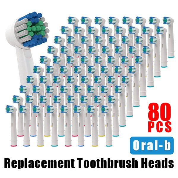 Electric Toothbrush Replacement Brush Heads for Oral-B