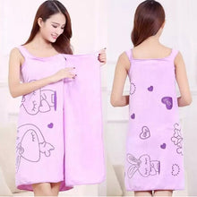 Load image into Gallery viewer, Bath Towels Fashion Lady Girls Wearable Fast Drying Magic Bath Towel Beach Skirt