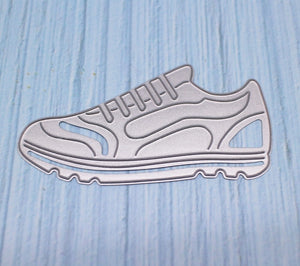 DIY Shoes Metal Cutting Dies Gym Shoes Dies Cut Stencils Scrapbooking Photo Embossing Paper Card Crafts