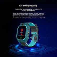 Load image into Gallery viewer, Children's Smart Watch Q19 Positioning Touch Screen Camera Mobile Phone Smart Watch Life Waterproof English Version of Children's Gifts