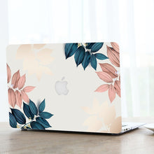 Load image into Gallery viewer, 2in1 Modern Leaf Marble Pattern Hard Case + Botoom Cover For Macbook Air Pro 11 12 13 15 ''